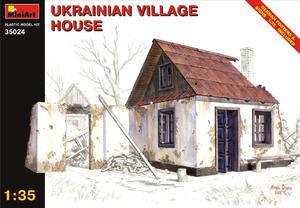 Украинский деревенский дом - 35024 MiniArt 1:35