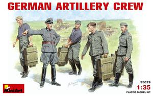 Немецкий артиллерийский расчет - 35029 MiniArt 1:35
