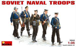 Советская морская пехота - 35043 MiniArt 1:35