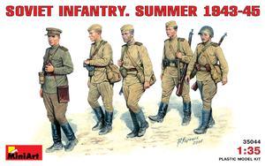 Советская пехота в летней униформе (1943-45) - 35044 MiniArt 1:35