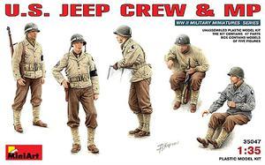 Американский экипаж джипа и военная полиция - 35047 MiniArt 1:35