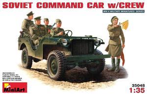 Bantam BRC-40 джип с советским экипажем - 35048 MiniArt 1:35
