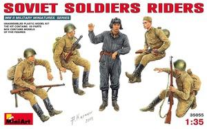 Едущие советские солдаты - 35055 MiniArt 1:35