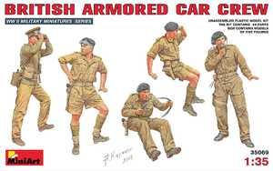 Британский экипаж бронеавтомобиля - 35069 MiniArt 1:35