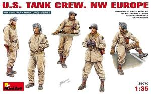Американский танковый экипаж (северо-западная Европа) - 35070 MiniArt 1:35