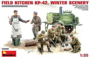 КП-42 полевая кухня зима - 35098 MiniArt 1:35