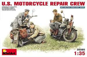 Американские мотоциклы на ремонте - 35101 MiniArt 1:35