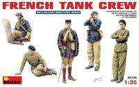 Французский танковый экипаж - 35105 MiniArt 1:35