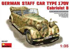 MB Typ 170V штабной автомобиль-кабриолет - 35107 MiniArt 1:35