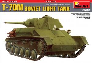 Т-70М советский легкий танк специальное издание - 35113 MiniArt 1:35
