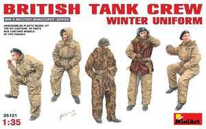 Британский танковый экипаж в зимней униформе - 35121 MiniArt 1:35