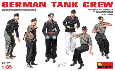 Немецкие танкисты - 35167 MiniArt 1:35