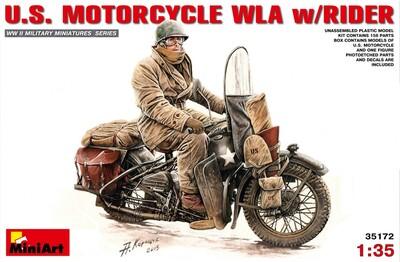 Американский мотоциклист - 35172 MiniArt 1:35