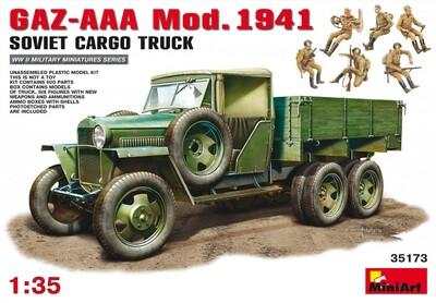 ГАЗ-ААА грузовой автомобиль обр.1941 - 35173 MiniArt 1:35