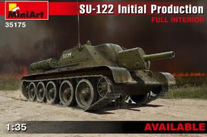 СУ-122 САУ ранних серий с интерьером - 35175 MiniArt 1:35