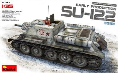 СУ-122 САУ ранних выпусков - 35181 MiniArt 1:35