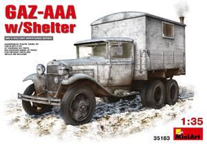 ГАЗ-ААА грузовик с закрытым кузовом-теплушкой (КУНГ) - 35183 MiniArt 1:35