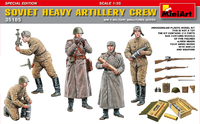 Советские артиллеристы - Miniart 35185 1:35
