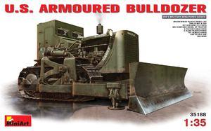D7 американский бронированный бульдозер - 35188 MiniArt 1:35