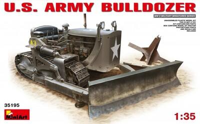 D7 американский армейский бульдозер - 35195 MiniArt 1:35