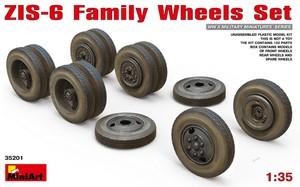 ЗиС-6 колеса семейства автомобилей - 35201 MiniArt 1:35