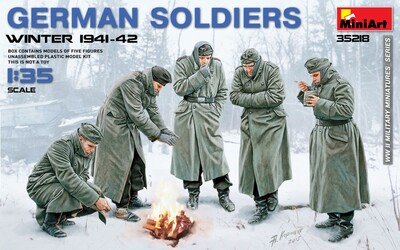 Немецкие солдаты (зима 1941-42) - 35218 MiniArt 1:35