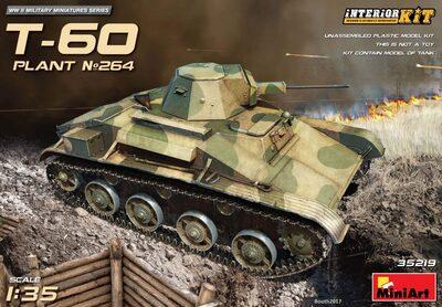Т-60 легкий танк завода №264 - 35219 MiniArt 1:35