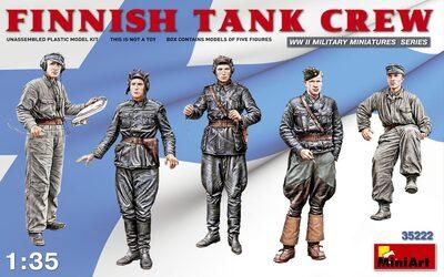 Финский танковый экипаж - 35222 MiniArt 1:35