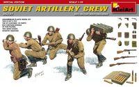 Советские артиллеристы (специальное издание) - 35231 MiniArt 1:35