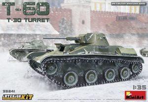 Т-60 с башней Т-30 легкий танк с интерьером - 35241 MiniArt 1:35