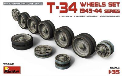 Т-34 Набор катков танков 1943-44 - 35242 MiniArt 1:35