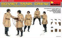 Советский танковый экипаж в зимней униформе специальное издание - 35244 MiniArt 1:35
