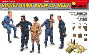 Советский танковый экипаж на отдыхе - 35246 MiniArt 1:35