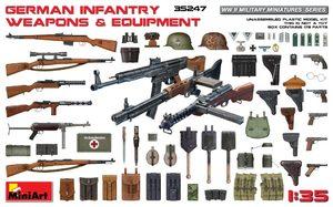 Немецкое пехотное оружие и снаряжение - 35247 MiniArt 1:35