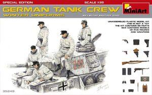 Германский танковый экипаж в зимней униформе - 35249 MiniArt 1:35
