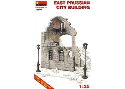 Восточно-Прусское городское здание - 35501 MiniArt 1:35