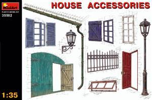 Аксессуары для домов - 35502 MiniArt 1:35