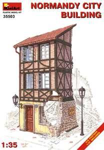Нормандское городское здание - 35503 MiniArt 1:35