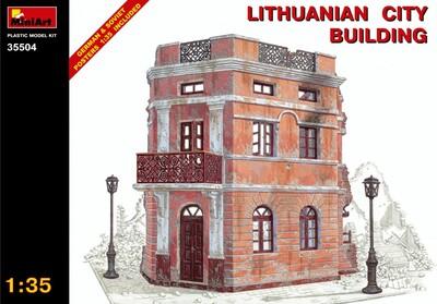 Литовское городское здание - 35504 MiniArt 1:35