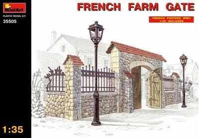 Ворота французской фермы - 35505 MiniArt 1:35