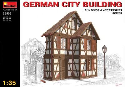 Немецкое городское здание - 35506 MiniArt 1:35