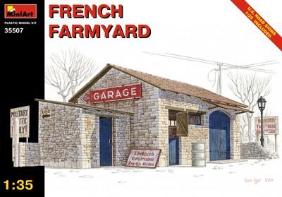 Французская ферма - 35507 MiniArt 1:35