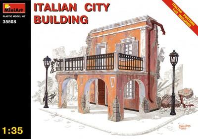 Итальянское городское здание - 35508 MiniArt 1:35
