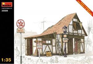 Немецкий сарай - 35509 MiniArt 1:35