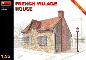 Французский деревенский дом - 35510 MiniArt 1:35