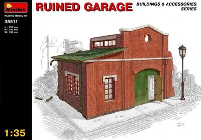 Разрушенный гараж - 35511 MiniArt 1:35