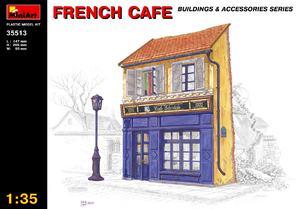 Французское кафе - 35513 MiniArt 1:35