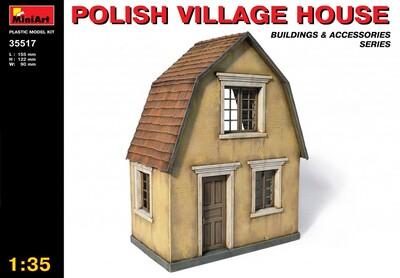 Польский деревенский дом - 35517 MiniArt 1:35