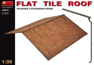 Черепичная крыша - 35518 MiniArt 1:35