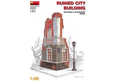 Разрушенное городское здание - 35519 MiniArt 1:35